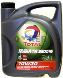 Total RUBIA TIR 8900 FE 10W30 5L motorolaj